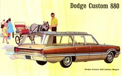 1965 Dodge Custom 880 station wagon
